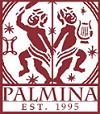 Palmina EST. 1995 Red Square Logo
